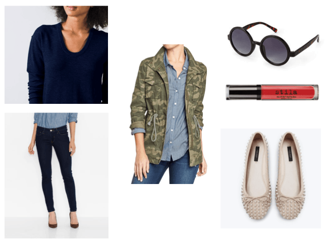 Mom Street Style - Camo Get the Look