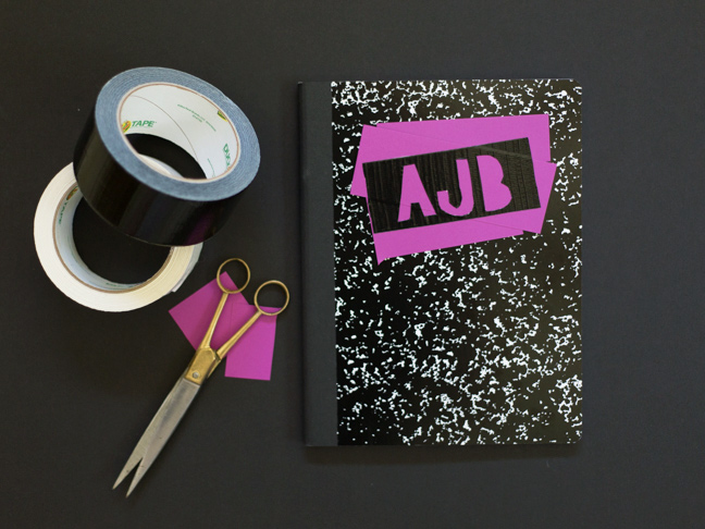 diy-duct-tape-monogram-notebook