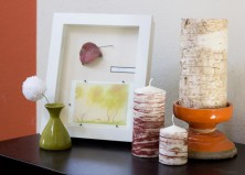 [FREE PRINTABLE] Pottery Barn Hack: DIY Faux Bois Candles