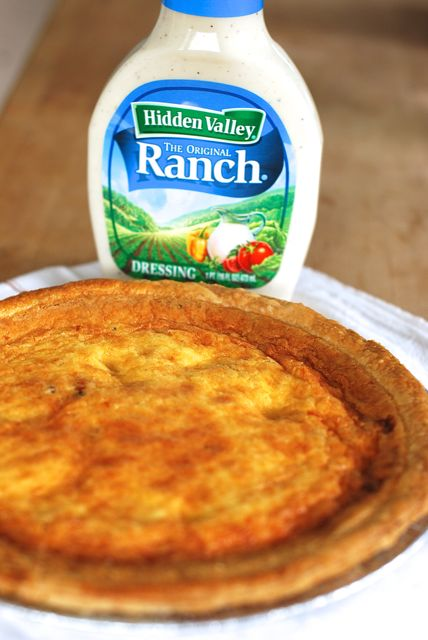 Hidden Valley Ranch Quiche