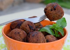 Meatless Burger & Meatball Recipes for Baby-Led Weaning