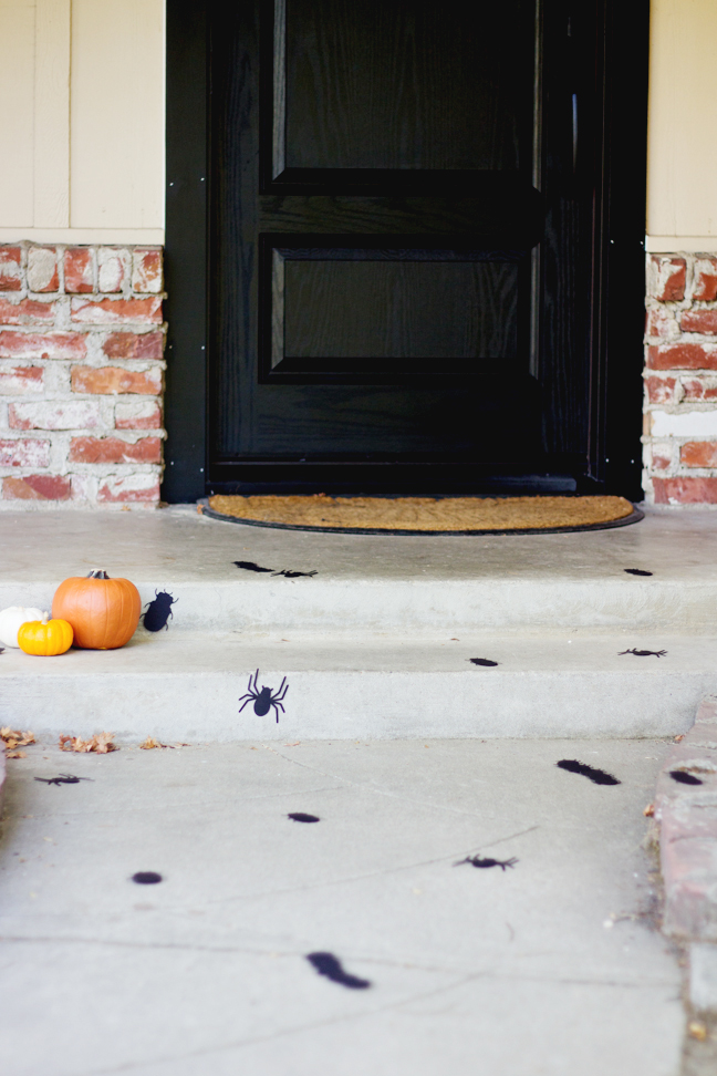 Free Printables Creepy Crawlers Sidewalk For Halloween