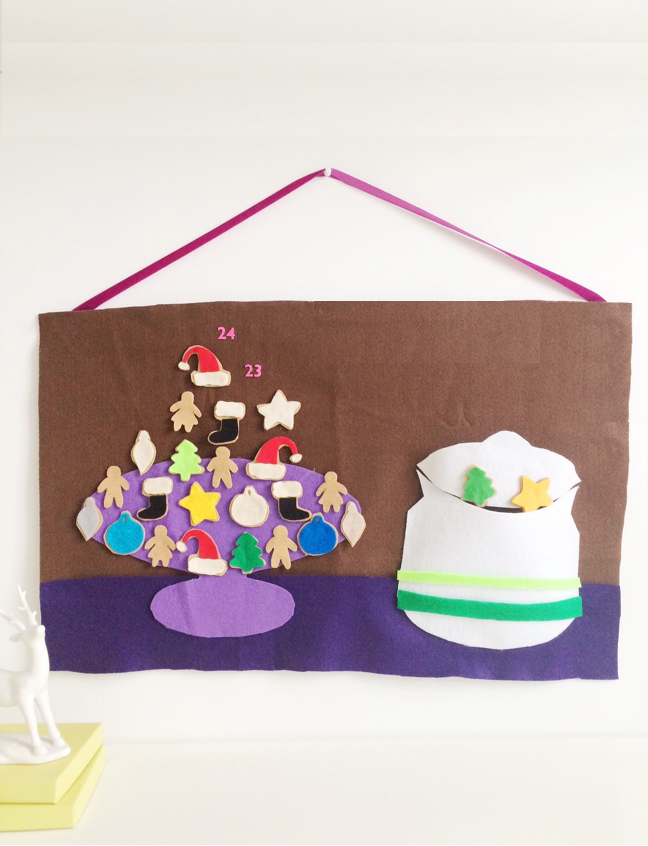 DIY Cookie Jar Advent Calendar - Shauna Younge for Momtastic
