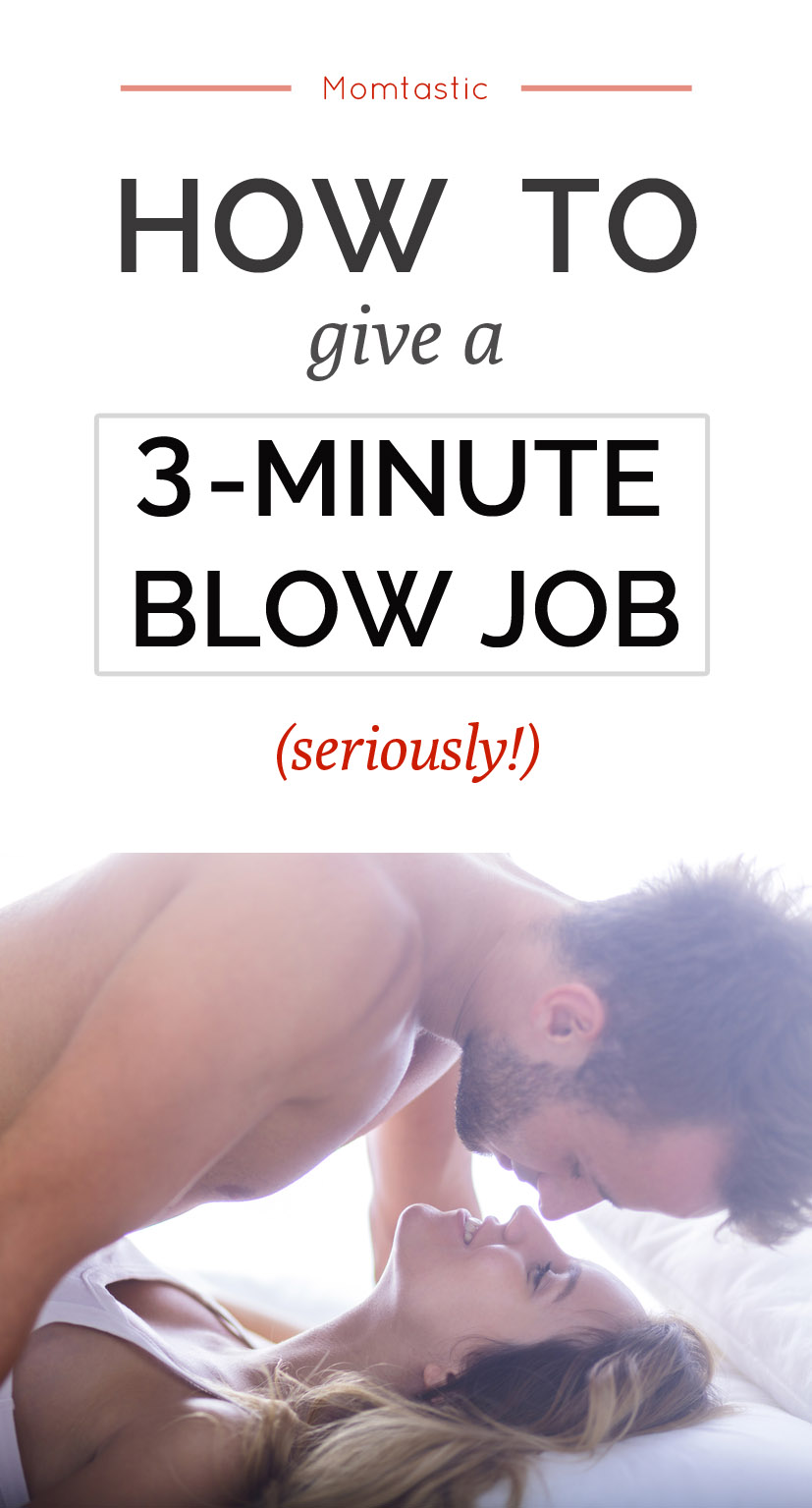 Blow job during sex