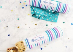Mixed Berry White Chocolate Cookie Dough Holiday Gift & Free Printable