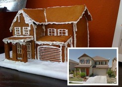 How To Make a Gingerbread House That Looks Exactly Like Your House