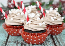 Hot Cocoa Cupcakes Recipe