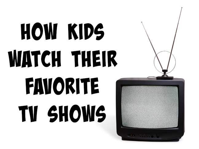 How kids watch their favorite TV shows on @ItsMomtastic by @letmestart