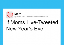 If Moms Live-Tweeted New Year's Eve: A Timeline