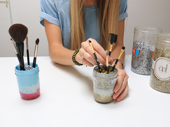 DIY Make up Brushes