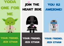 14 Free Printable Star Wars Valentines for Kids & Classrooms