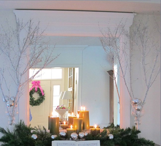 Holiday Decorating Video: Making Sparkly Branches