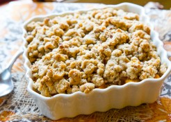 Savory Butternut Squash Crumble Recipe