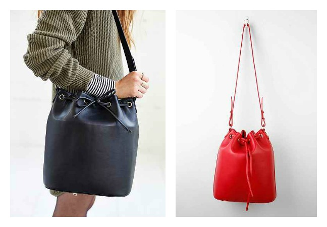 Collaborative Structured Bucket Bag