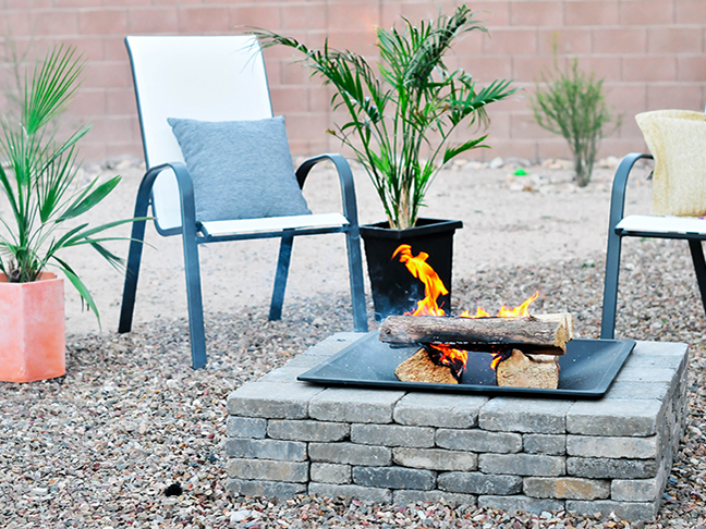 You Can Create This Modern Diy Fire Pit In An Hour It S That Easy