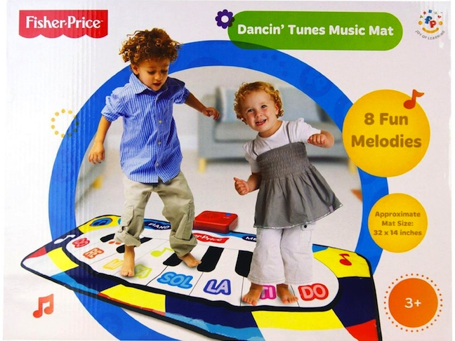 Dancin' Tunes Music Mat by Fisher-Price