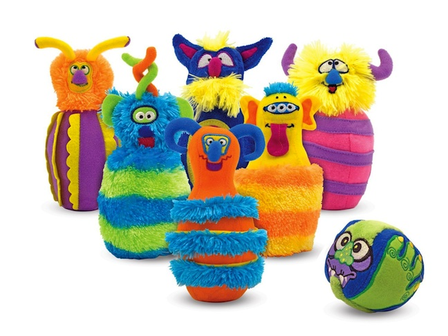 Children's Monster Bowling Set