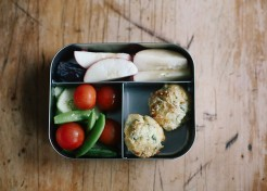 Bite-Size Food for Lunch Boxes