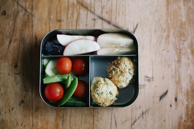 Bite-size lunch box ideas