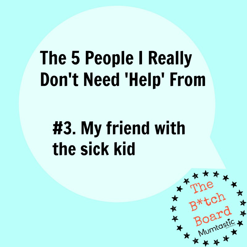 5 people I don't need help from