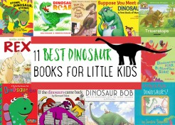 The Best Dinosaur Themed Books for Little Kids