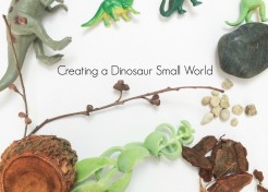 Small Worlds: Dinosaur Play Time