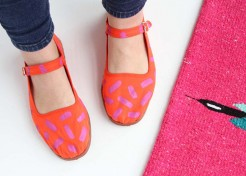 How to Paint Shoes: Customize a Pair of Simple Flats with This Simple Tutorial