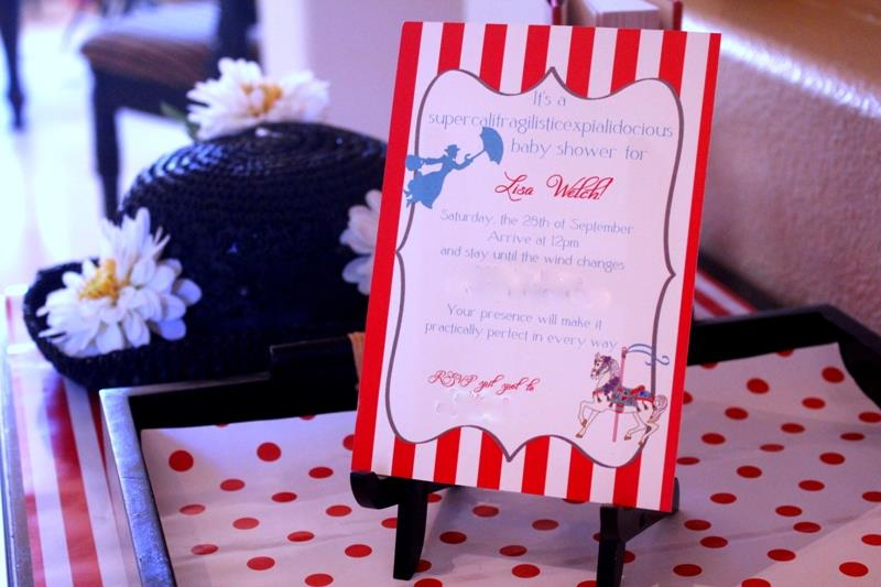 Mary Poppins Baby Shower
