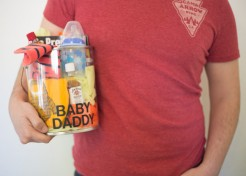 How to Make a Creative Baby Shower Gift for Dad