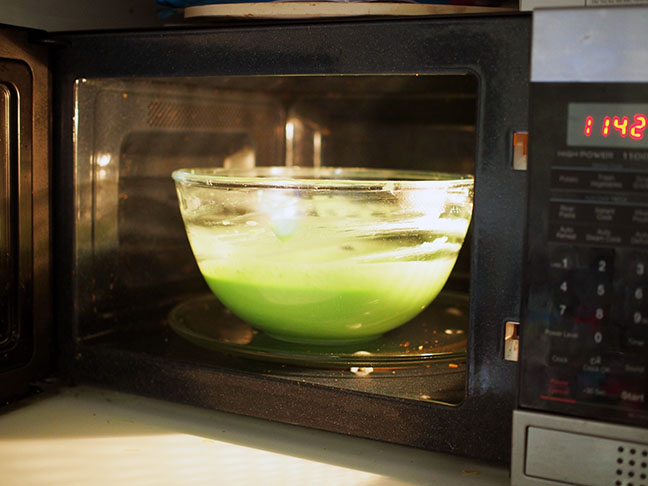playdough microwave