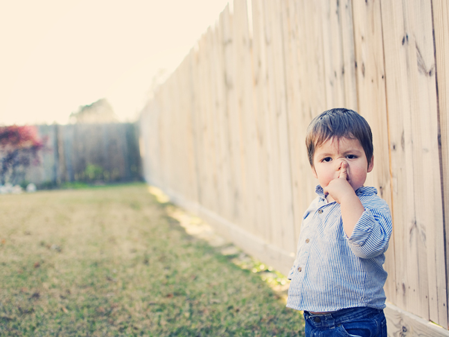 Dirt boogers and other toddler foods