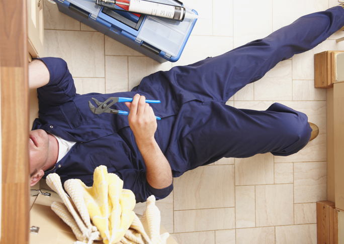 How to deal with tradespeople when you're at home