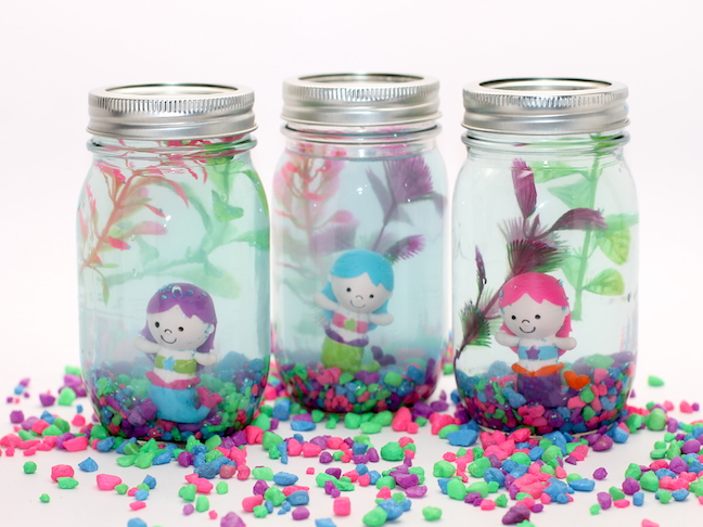 DIY Mason Jar Aquarium for Kids