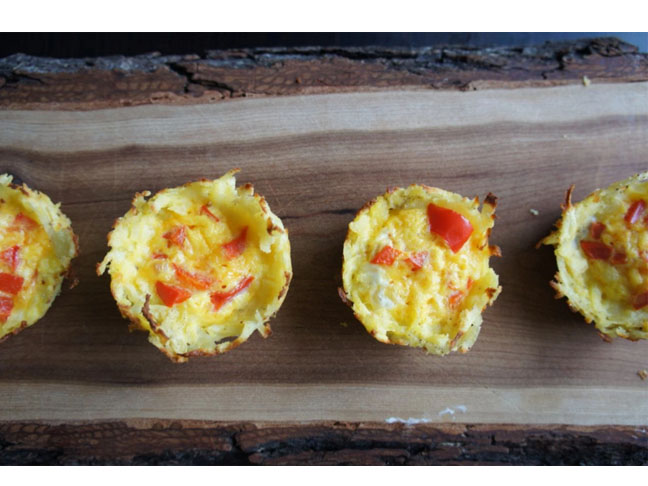 egg potato muffins