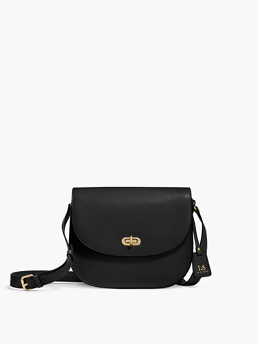 black cross body camera purse