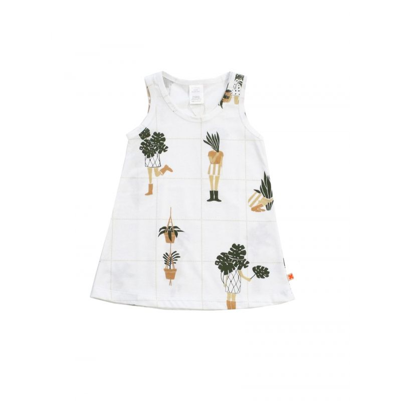 crazy garden tank dress from tiny cottons