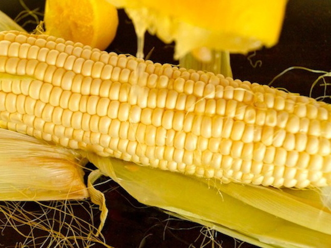 fresh corn-lemon-juice-yellow