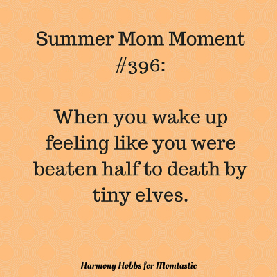 Summer Mom Moment
