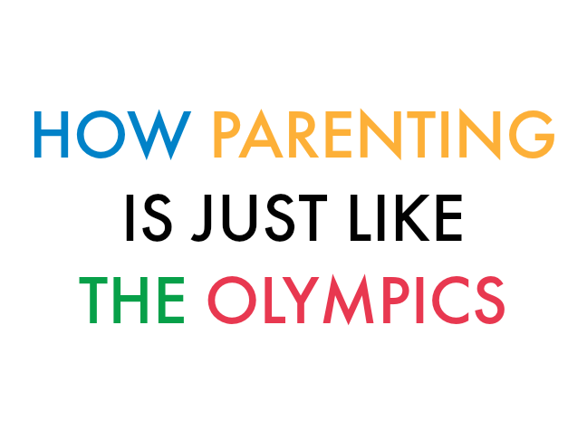 How Parenting Is Just Like the Olympics on @ItsMomtastic by @letmestart | The Olympic Games in Rio 2016 parenting humor for mom and family