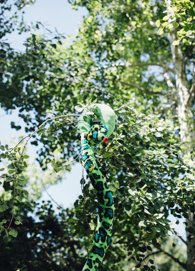 kaa-the-snake-jungle-decorations-hanging-in-the-tree