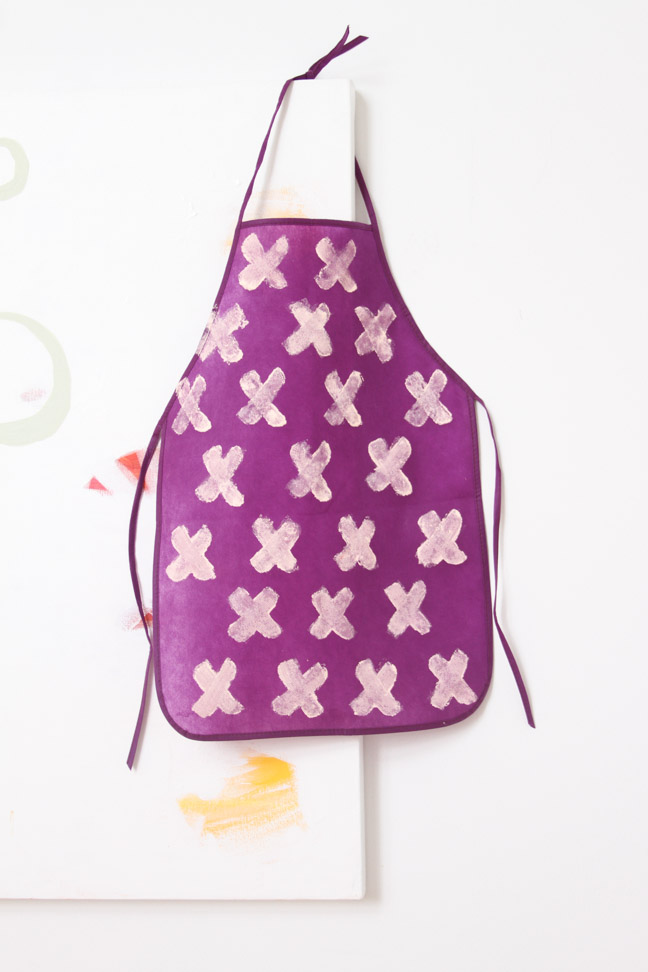 DIY Kid's Artist Apron
