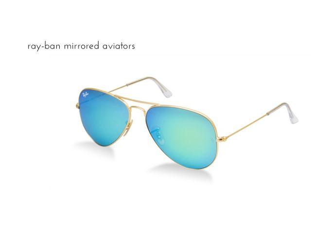 ray-ban mirrored aviators_opt