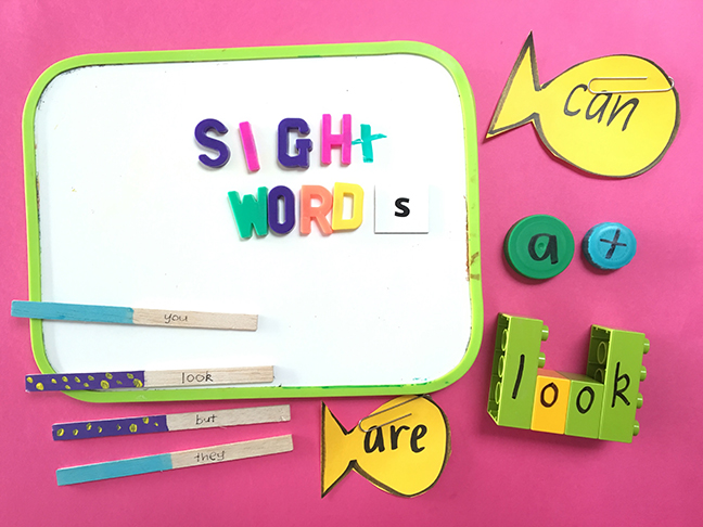 15 Fun Ways to Help Your Child Learn Their Sight Words