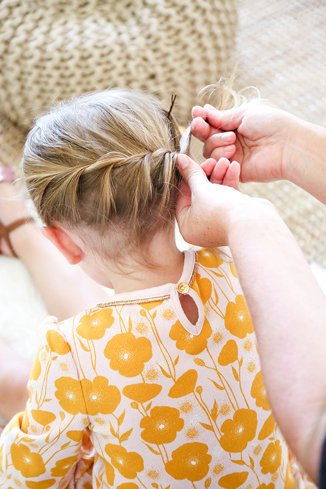 Create A Super Sweet Do Using This Easy Toddler Braid Hack