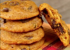 Pumpkin Pie Chocolate Chip Cookies Recipe