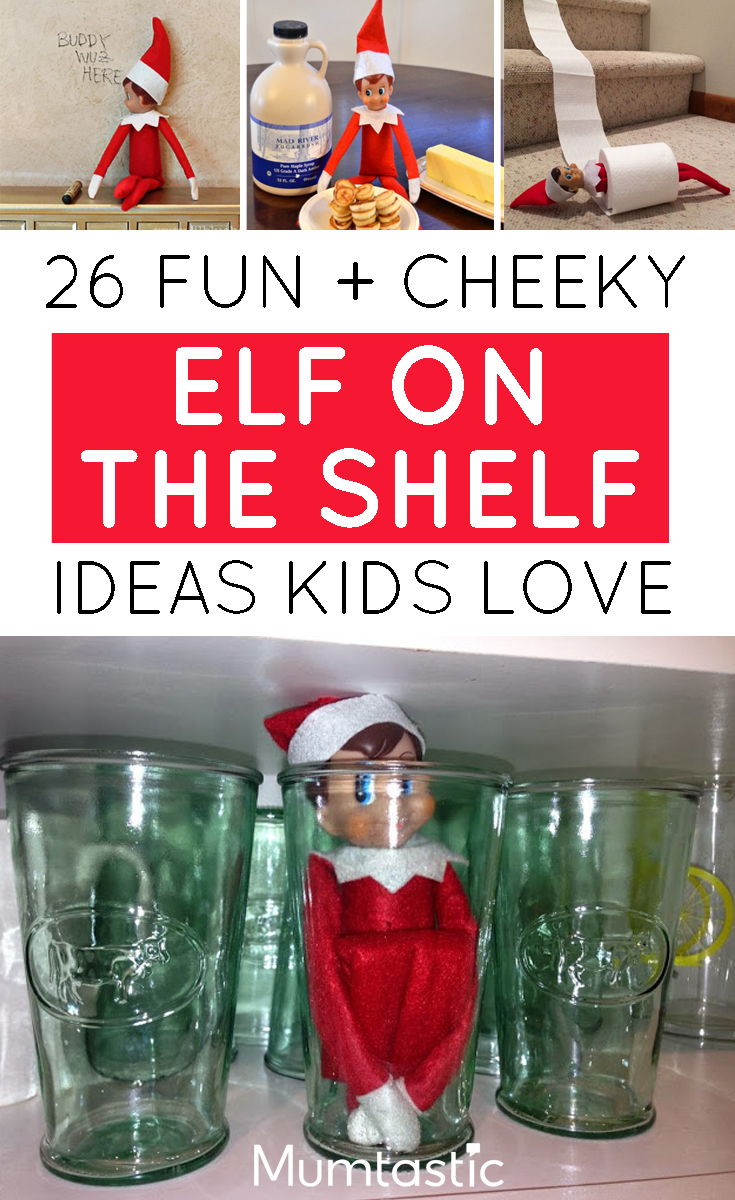 Elf on the Shelf Ideas Kids will Love