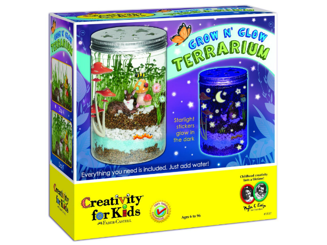 Gifts for the Kids Who Love Dolls and All the Fun That Comes with Them on @ItsMomtastic | Holiday Gift Guide featuring the Glow and Grow Terrarium