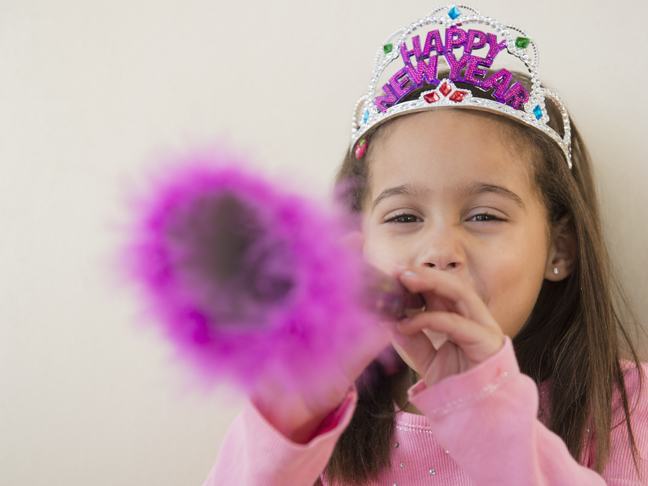 How to Celebrate New Year's Eve with Kids in Tow