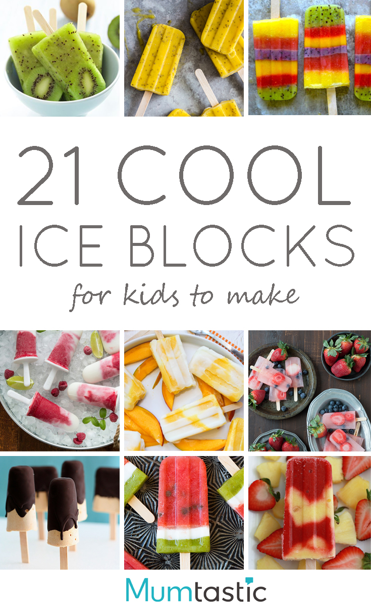 21 Cool Nail Art Ideas: 21 Cool Ice Block Recipes For Kids To Make