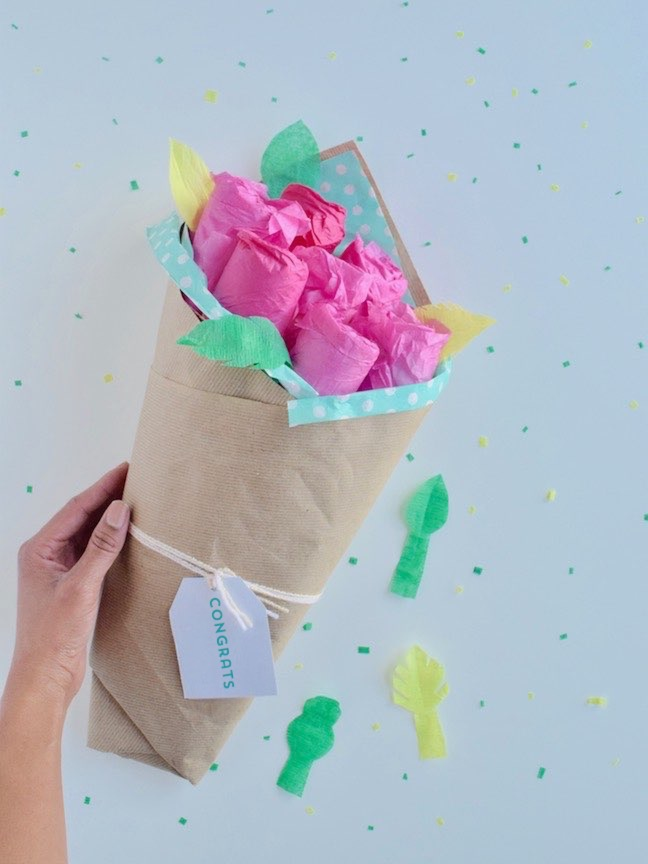 How to Make the Prettiest Diaper Bouquet Ever